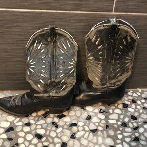 Rare starburst acme cowboy boots